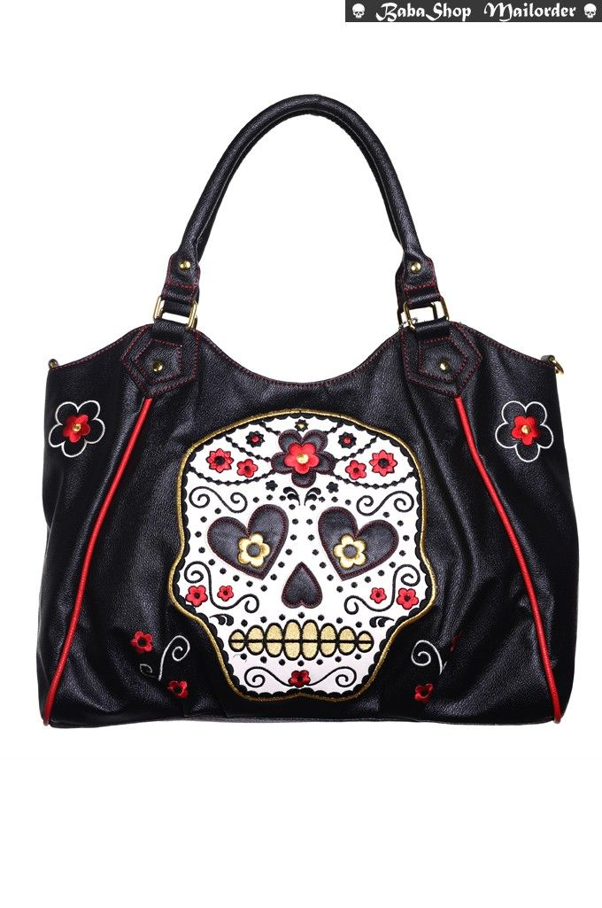 Skull Sugar ApparelMy Bop Banned Collectif Bag Lindy 1JKclF