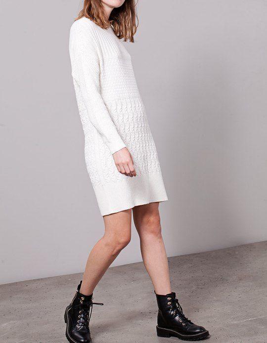 Jersey vestido mujer