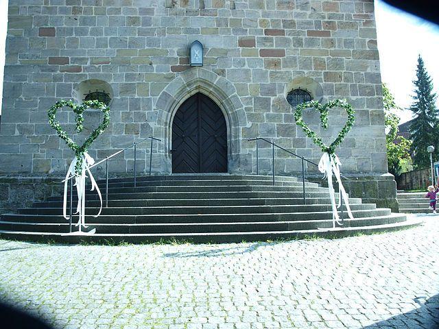 Kirchen Deko Hochzeit Pinterest