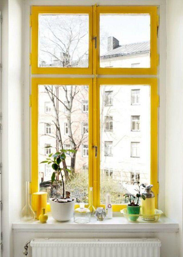 6 idées simples pour décorer son rebord de fenêtre Window, Archi - store pour fenetre interieur