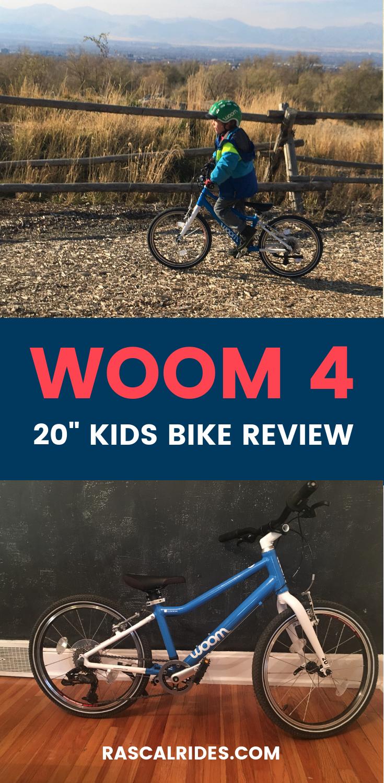 Woom 4 20 Kids Bike Review Kids Bike Best Kids Bike Kids