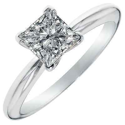 96136 Wedding-rings Simulated Princess Cut Solitaire Engagement Wedding Ring 2CT 14k White Gold   BUY IT NOW ONLY  $145.99 Simulated Princess Cut Solitaire Engagement Wedding Ring 2CT 14k White Gold ...