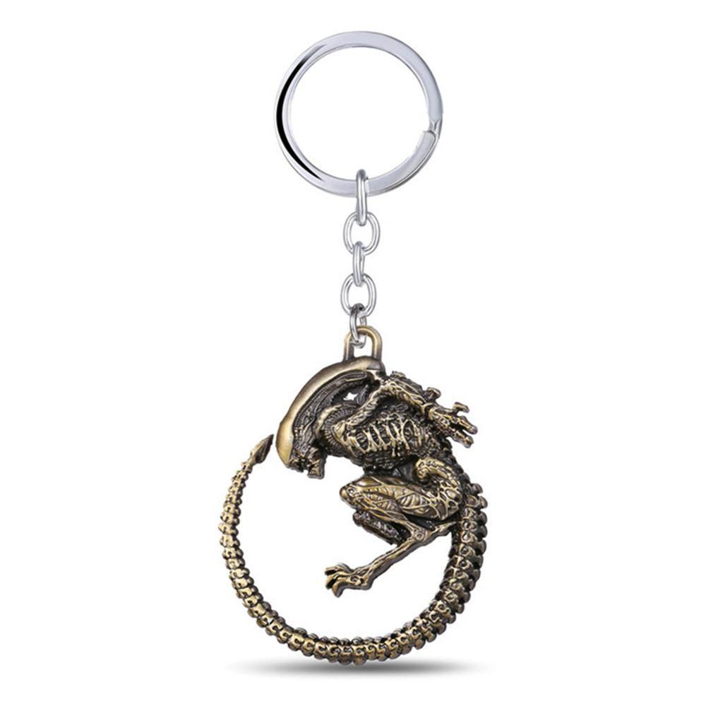 Movie AVP Predator Alien Alloy Key Chains Keychain Keyfob Keyring Alien vs