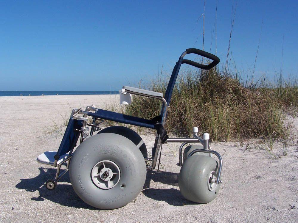 Barrier Free Trail Wheelchair