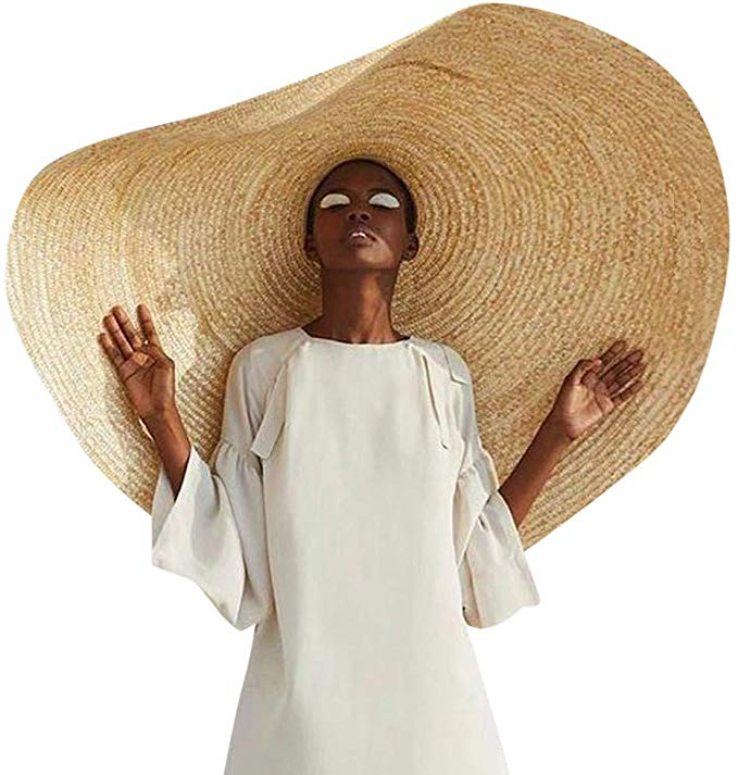 Beach Hat For Women Floppy Straw Hat Large Brim Sun Oversized Hat Ladies Wide Brim Straw Roll Up Cap Summe Floppy Sun Hats Floppy Straw Hat Large Brim Sun Hat