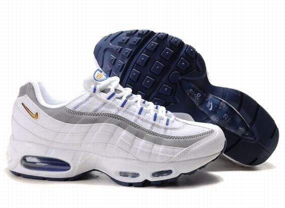 Nike Air Max 95 Mens In Ashy White Gold | Baskets nike, Basket ...