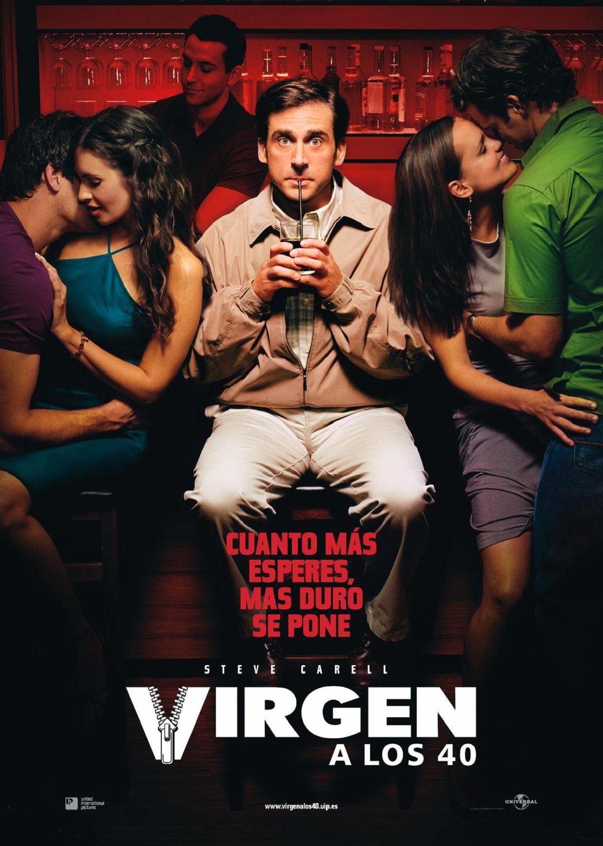 Virgen A Los 40 The 40 Year Old Virgin 2005 Peliculas Cine Peliculas Virgen A Los 40