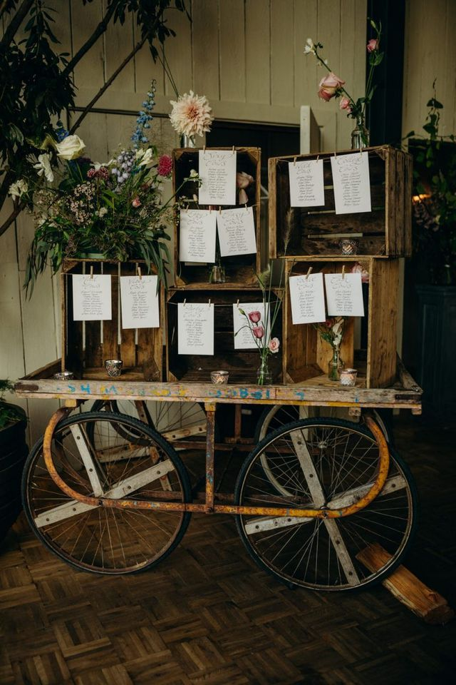 Soho Farmhouse Wedding In Oxfordshire with Rustic Decor