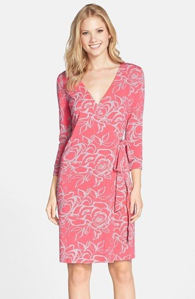 FELICITY & COCO Print Jersey Wrap Dress (Nordstrom Exclusive)