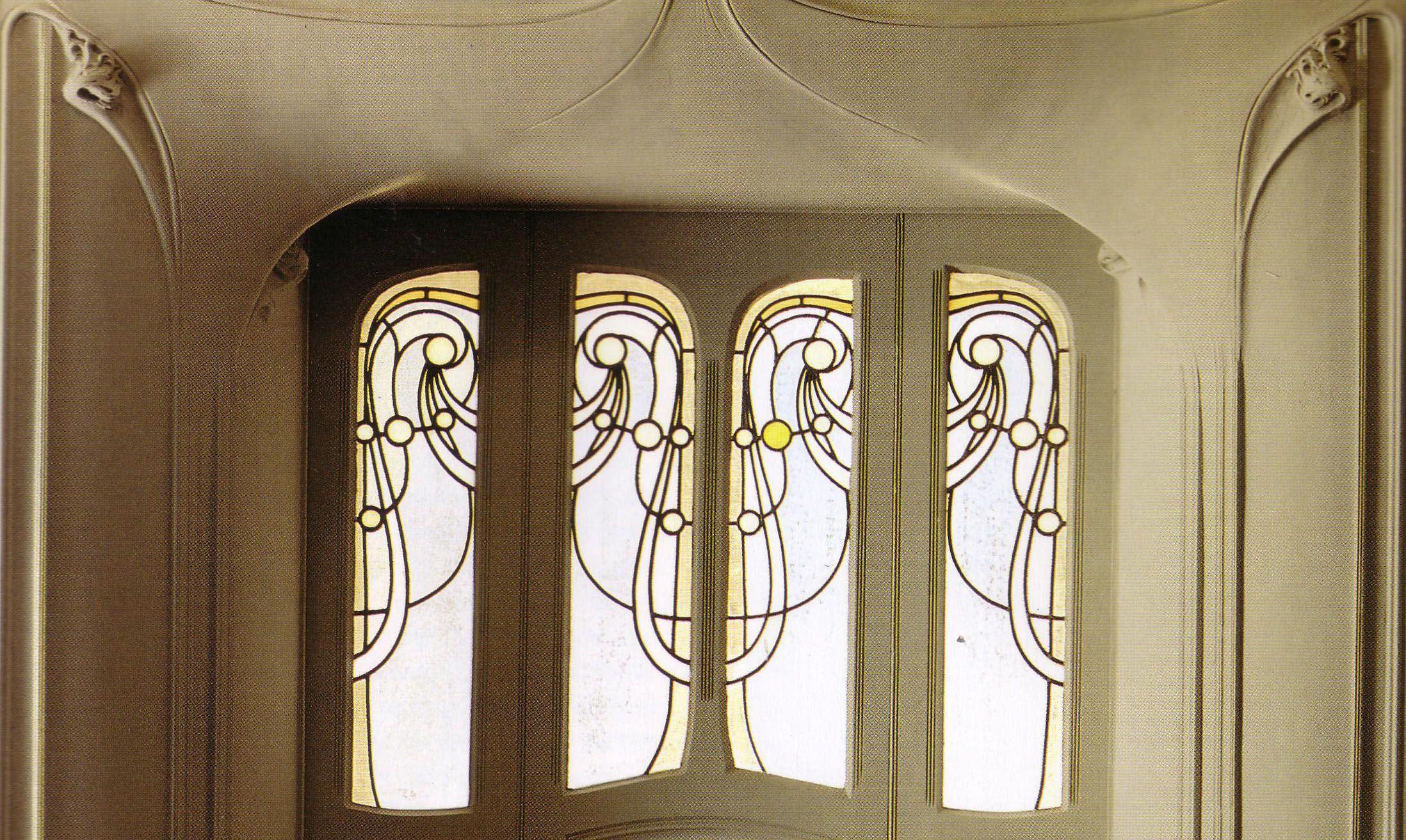 Hector Guimard- Lobby Veiw- Hotel Paul Mezzara 1911