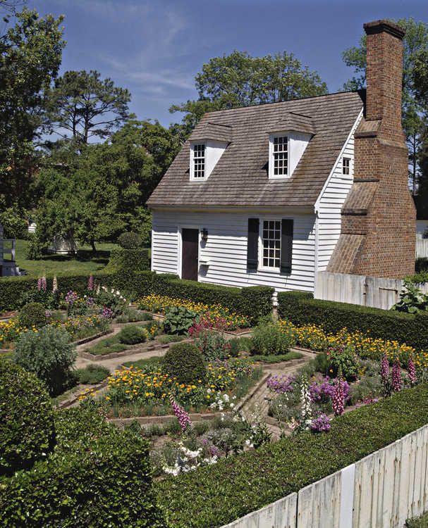 Colonial Williamsburg's Spring Gardens