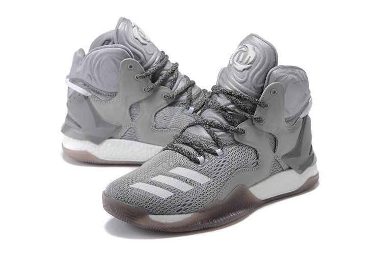 official photos 165a7 c0c20 Free Shipping Only 69  Derrick Rose 7 VII Ash Grey Wolf Grey Gum