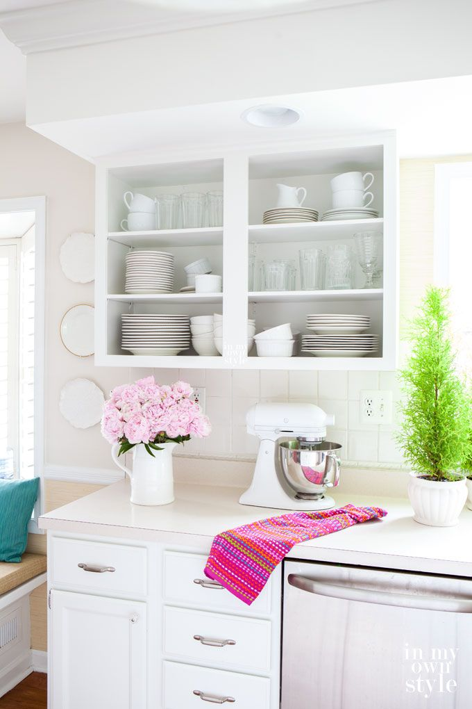 Kitchen Tweak: How to Paint Laminate Cabinets | Painting ...