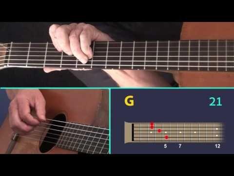 Moonlight Serenade Fingerstyle Guitar Lesson Youtube Music