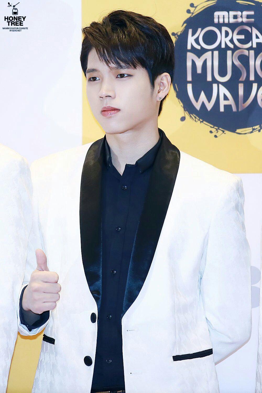 20161008 Dmc Festival 2016 Mbc Korean Music Wave Red Carpet Infinite Woohyun