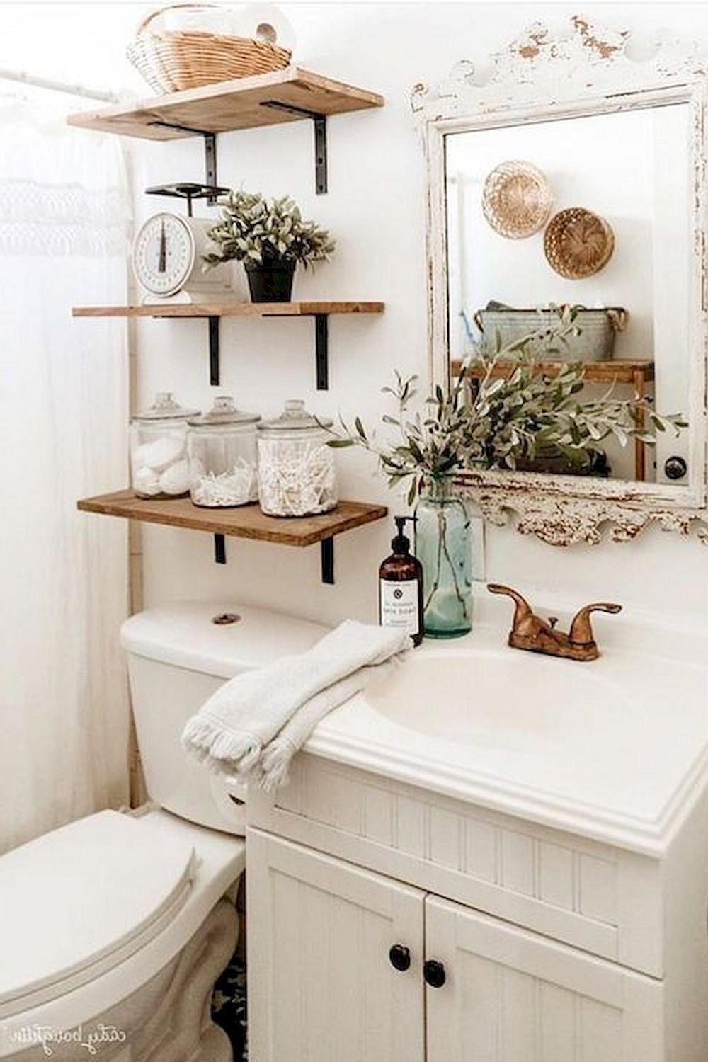 Small Bathroom Storage Ideas In 2020 Diy Bathroom Design Small Bathroom Decor Boho Bathroom