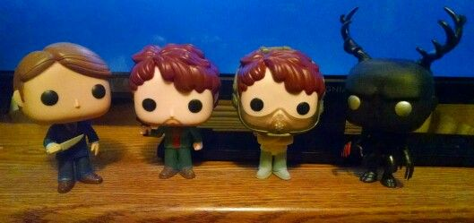 Hannibal, Will Graham & Wendigo Funko Pop Figures (they just came in the mail! :D)