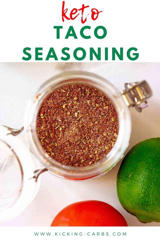 Keto Taco Seasoning - Low Carb, Gluten Free - Kicking ...