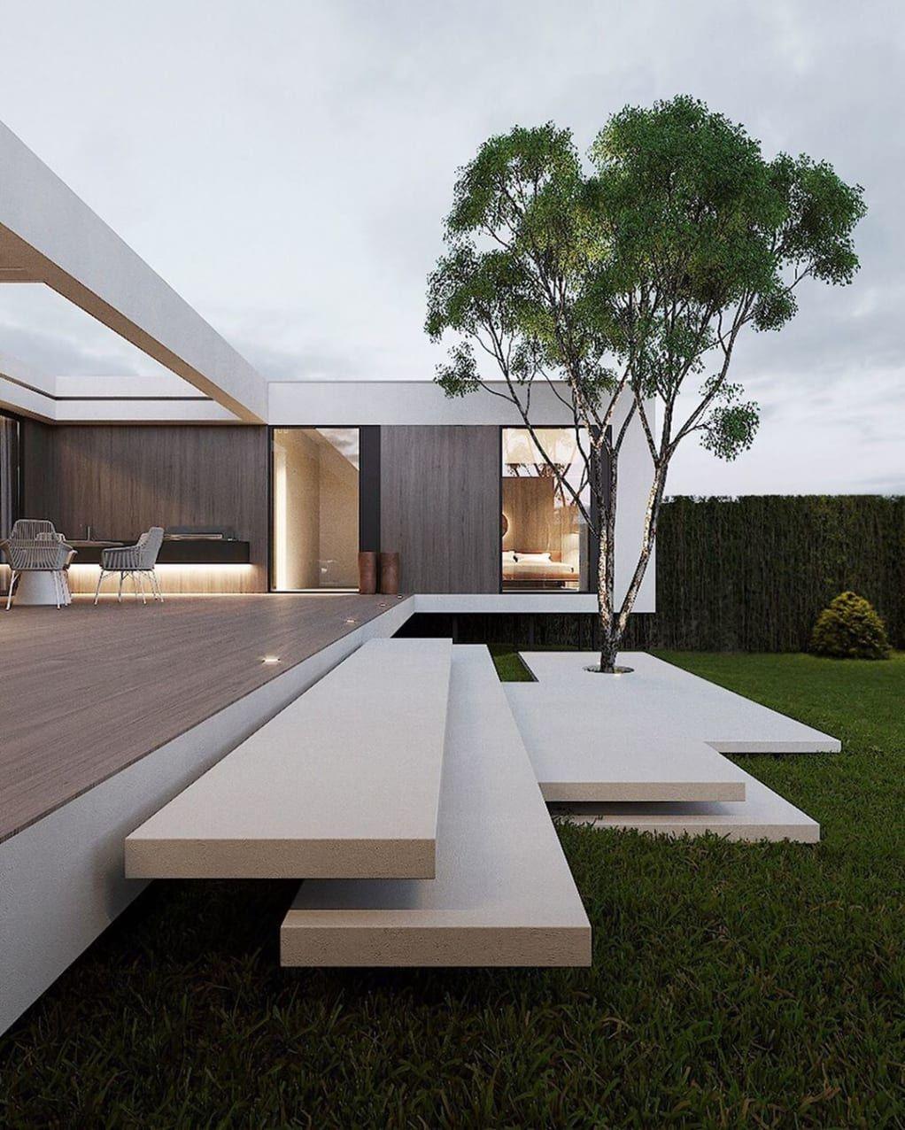 Minimal Interior Design Inspiration 199 Modern Architecture Design House Architecture Design Minimal House Design