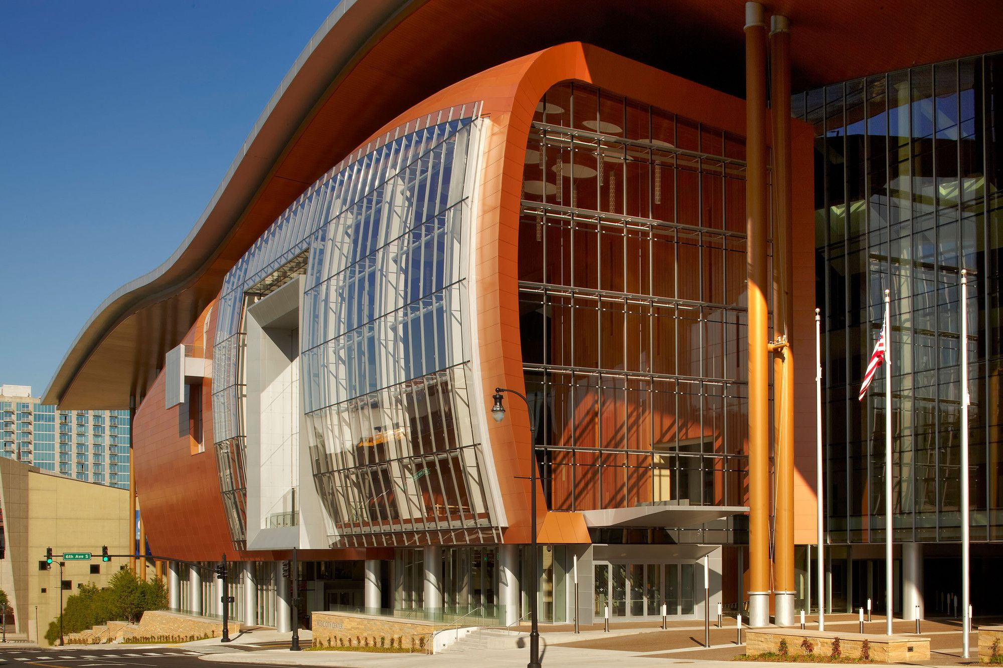 Gallery Of Music City Center Tvsdesign 1 Theater Architecture Architecture City