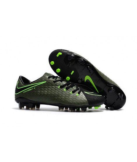 Nike Hypervenom Phelon 3 Fg Grun Schwarz Fussballschuhe