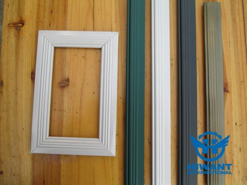 Aluminium profile for the frame of screen windows and doors