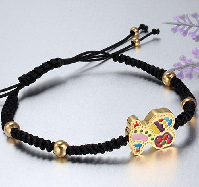 198ec5650258 Cotillea las nuevas joyas en acero imitación tous osito entrega en  24 48hrs. Joyas de acero inoxidable bañadas en oro o plata