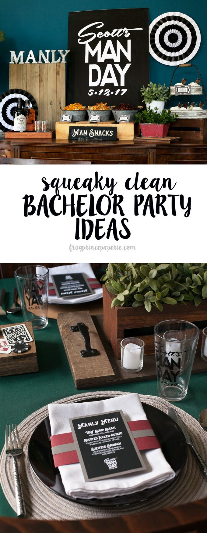 squeaky clean bachelor party ideas with cricut | best party ideas