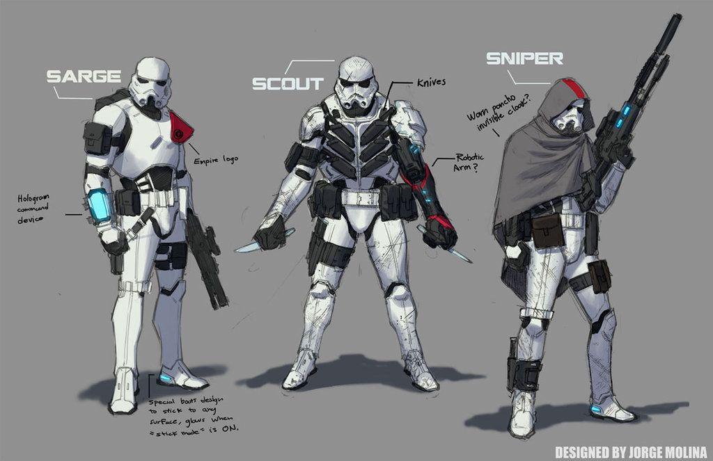 Stormtroopers by ZurdoM.deviantart.com on @DeviantArt