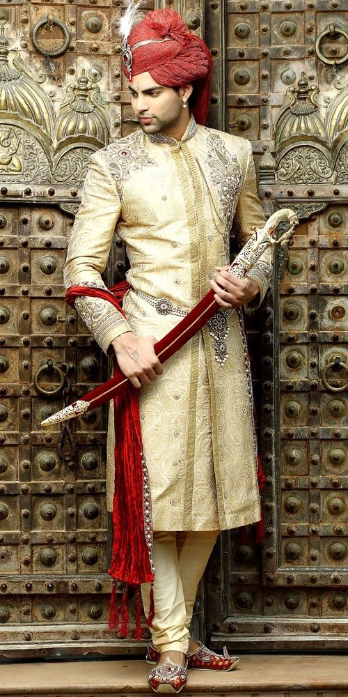 Grooms Attire Indian Wedding FashionEthnic