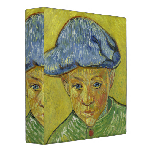 Camille Roulin By Vincent Van Gogh Vinyl Binders Vincent