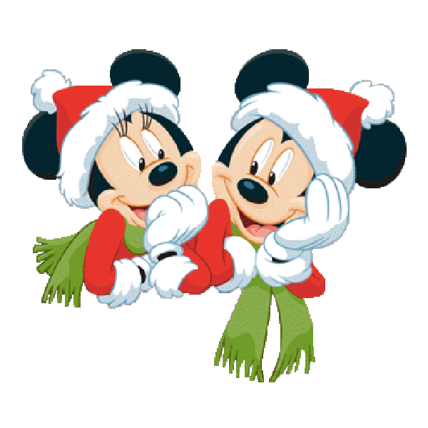 mickey mouse and friends xmas clip art images free to copy. Black Bedroom Furniture Sets. Home Design Ideas