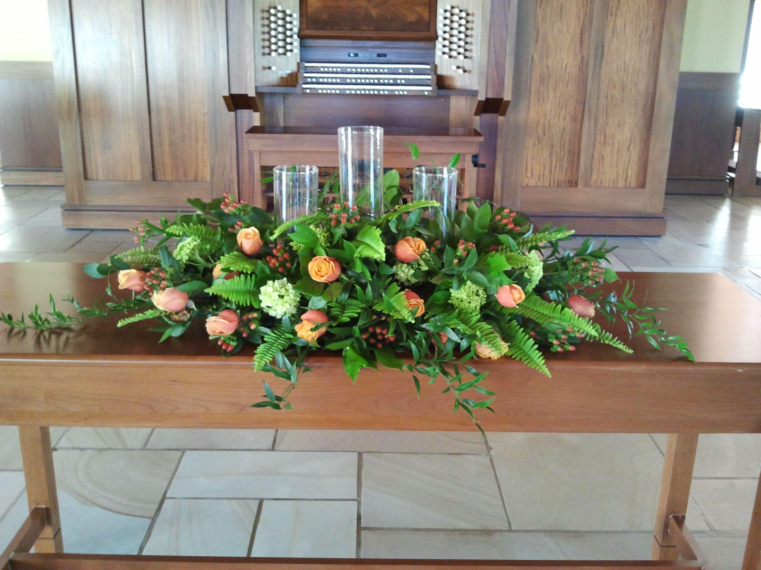 Ceremony flowers by twigs in greenville sc flower