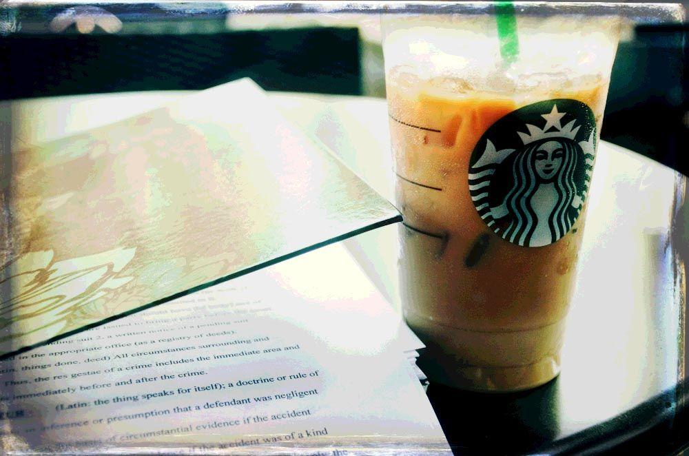 Starbucks! Iced chai tea latte, pleeasee :)