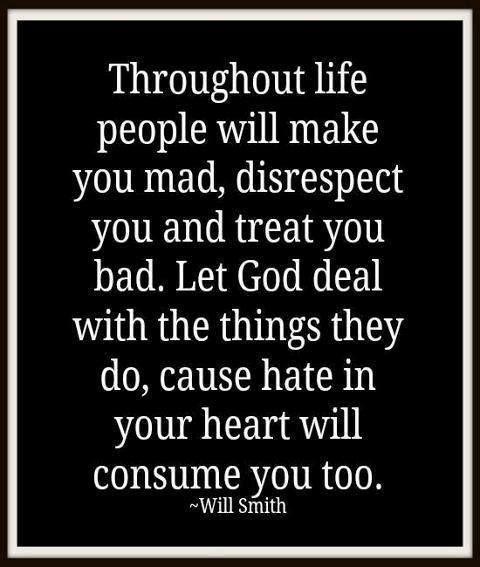 Bad People Quotes: AMEN !!!Throughout Life People Will Make You Mad