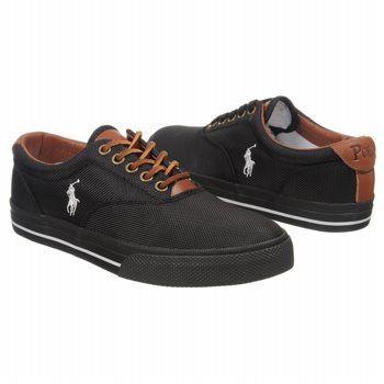 Polo by Ralph Lauren Vaughn Shoes (Black) - Men's Shoes - 7.0 D