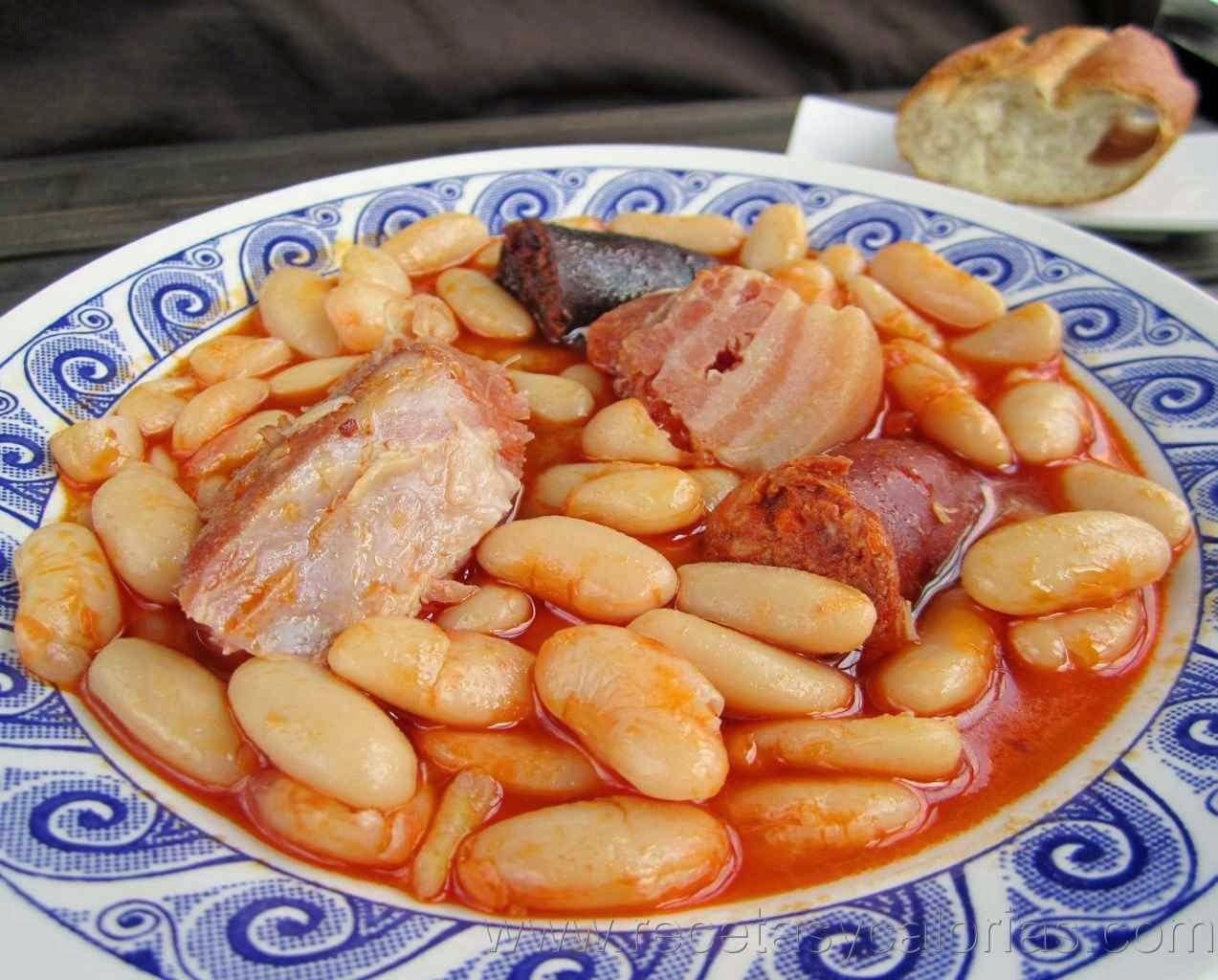 Recetas De Cocina Asturiana Faciles | Fabada Un Clasico De La Cocina Asturiana Por 420 Kcal 100g