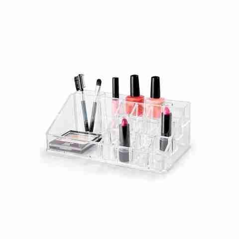 Kmart 7 Bathroom Cosmetic Organiser Medium Cosmetic