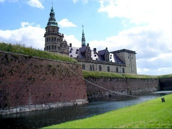 kronenbourg castle denmark. I have a picture of myself standing in that exact spot on the grass
