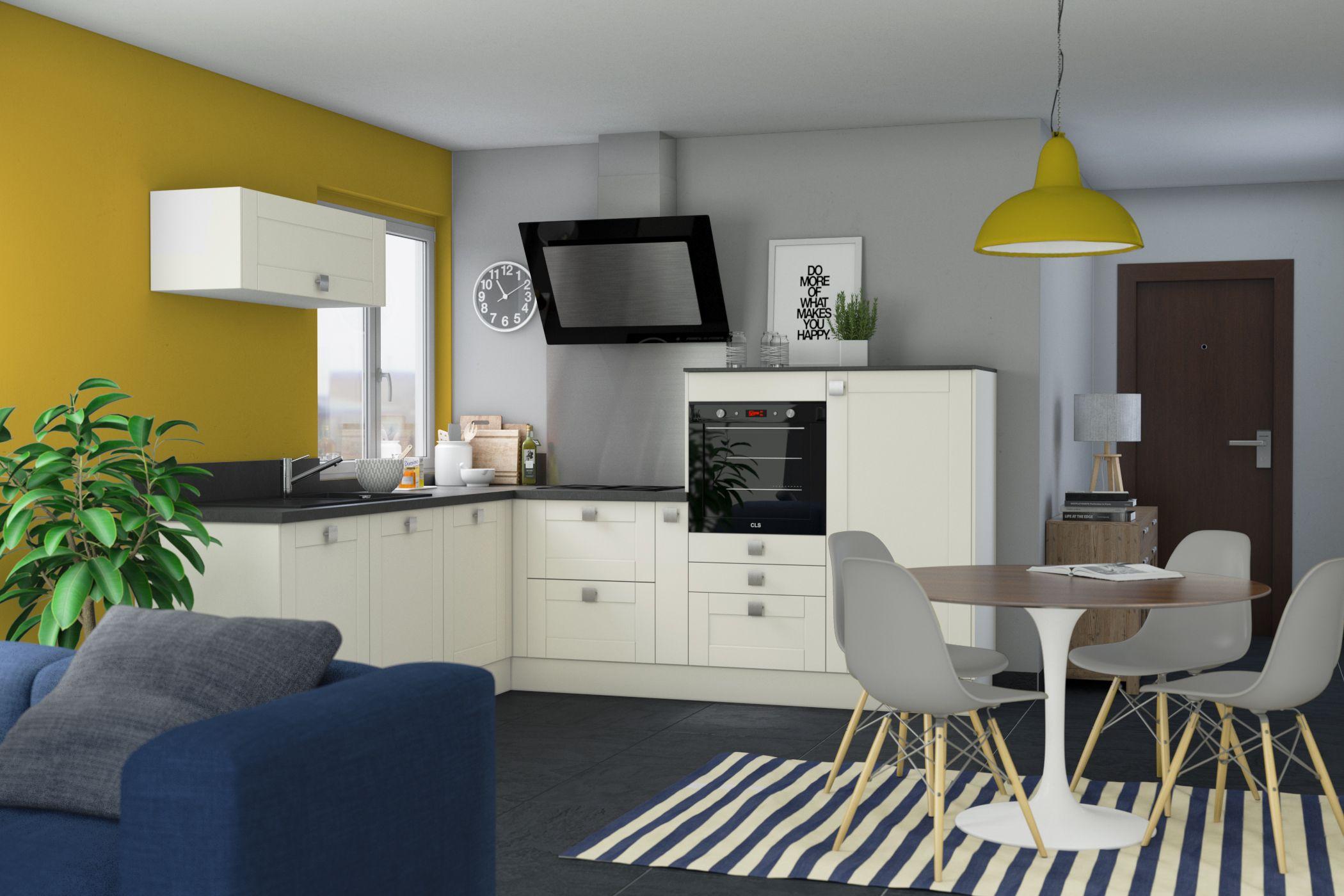 La cuisine ouverte sans îlot plus quuune tendance un style de vie