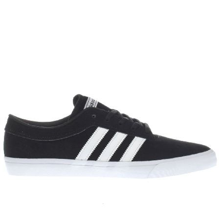 #Adidas black white sellwood trainers #Streamlined and lightweight, the adidas  Sellwood is a great alternative if youre looking for something a li…