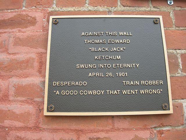 black jack ketchum hanging | Black Jack Ketchum Hanging Marker | Flickr - Photo Sharing!