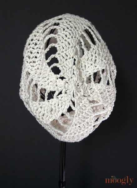 449ae880afb Spinning Summer Slouchy Beanie - free crochet pattern on moogly