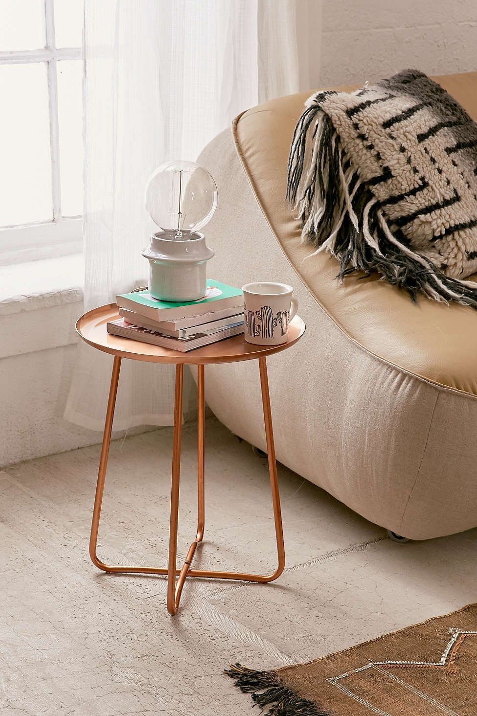 Blaire Metal Side Table Metal Side Table Modern Side Table Urban Outfitters Furniture