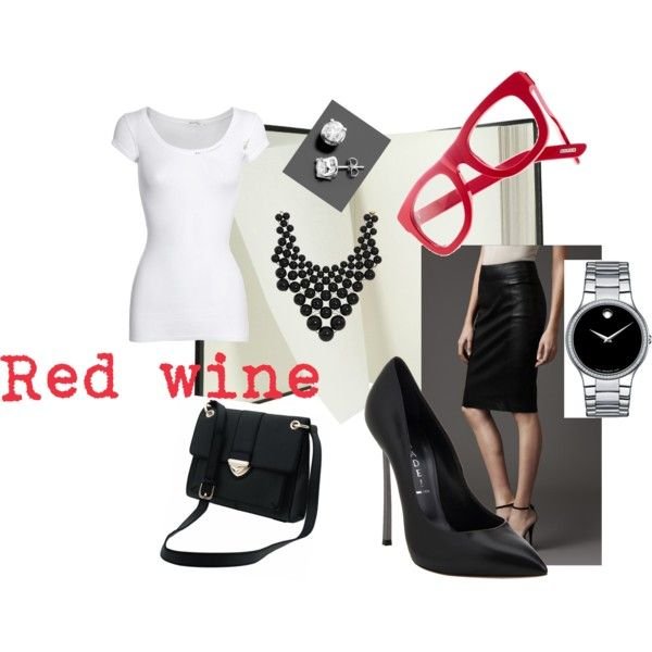 Black and white, created by #lourdes-ramirez-munoz on #polyvore. #fashion #style American Vintage #Burberry
