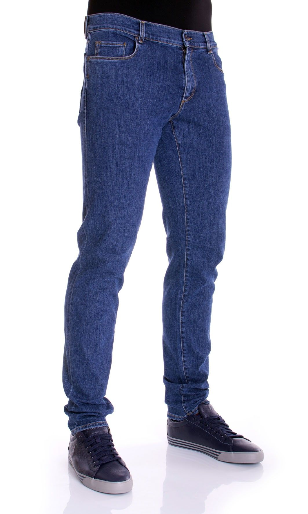 Fifty Four Jeans Uomo Denim Blu