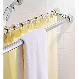 Marvelous Dual Shower Rod Ideas Pinterest. Double Shower Curtain Rod And Towel Bar