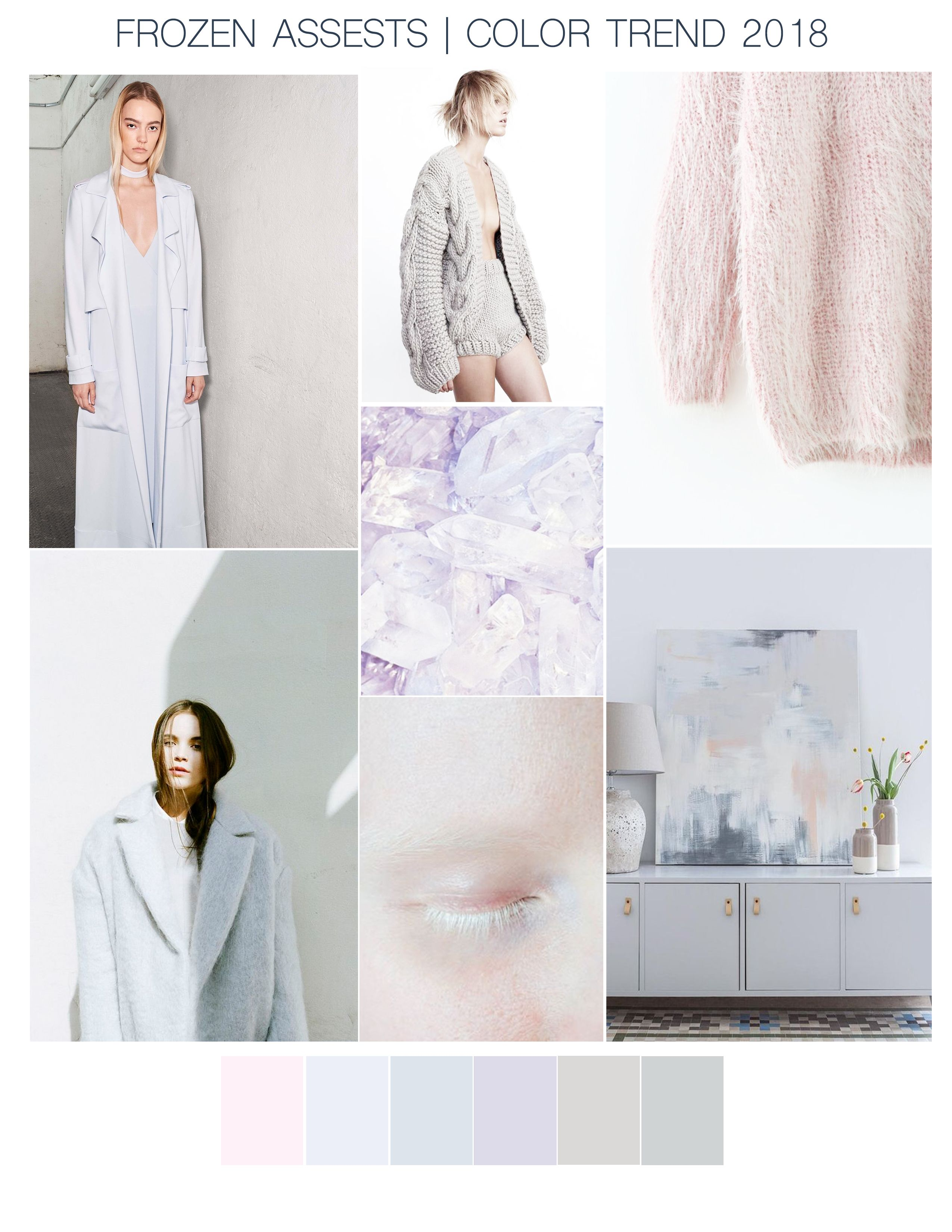 Trend fall of pastel colors forecasting dress in autumn in 2019