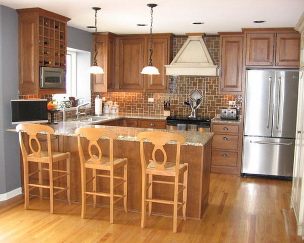 Best Small Kitchen Design Ideas Gallery Shaped Ideas On Small 400 x 300