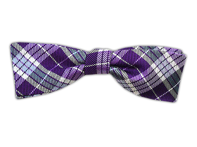 Mad Plaid - Violet (Slim Bow Tie)    BowTie - Wear Your Good Tie. Every Day